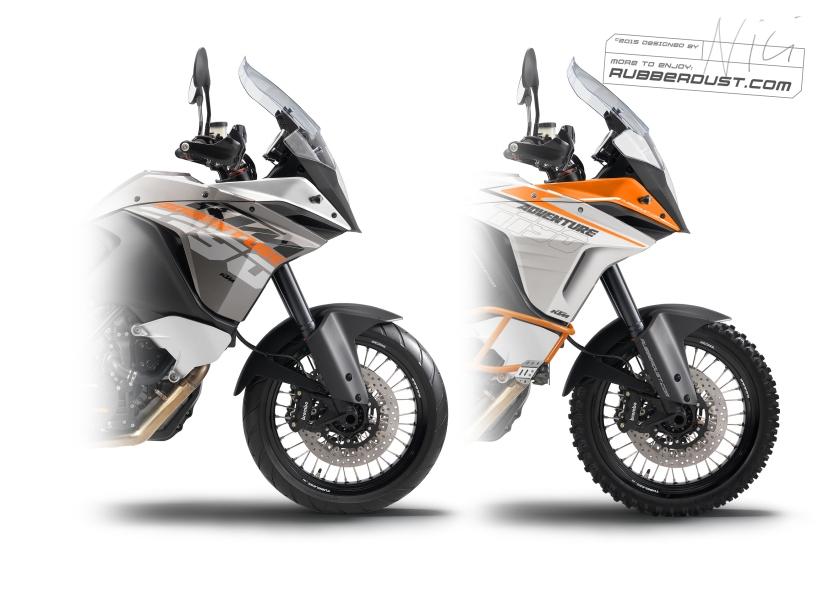 KTM 1190 Adventure Vergleich
