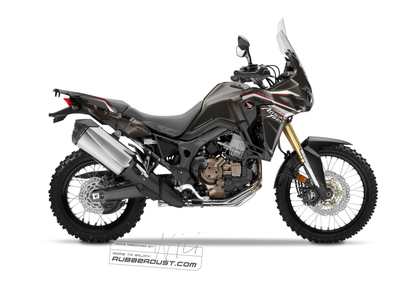 Rubberdust CRF 1000 L Darkbrown