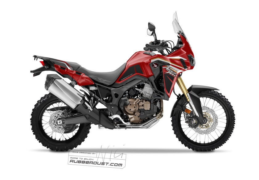 Rubberdust CRF 1000 L Devilred