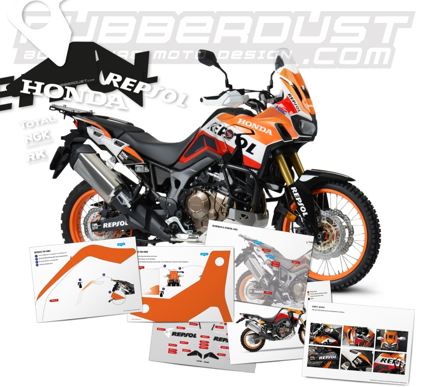 Africa Twin CRF 1000L Repsol Mail