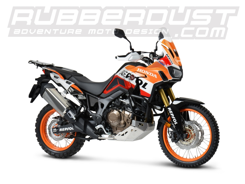 Africa Twin CRF 1000L Repsol Web side