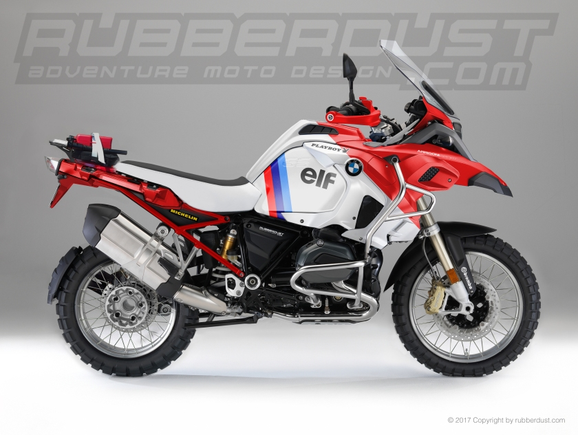 2017 BMW R1200GS Adventure Dakar Branded